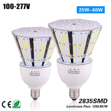 Freeshipping big discount 40w E27/40 LED garden light 120lm/w 3 years Warranty CE ROHS 100-277VAC