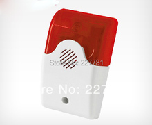 LB-02 Wireless Indoor Strobe Flash Alarm Siren Horn with Flashing Light 315MHz For Home Company Security Alarm System(China)