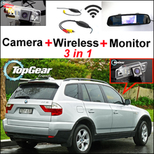 3 in 1 Special WiFi Camera BackUp Rear View Parking Back Up System For BMW X3 F25 ( 3 products in 1 )(China)