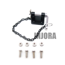 1:10 RC Rock Crawler Metal Tow Shackle Trailer Hook for Axial SCX10 90046 TAMIYA CC01 RC4WD D90 D110 TF2 Crawler Truck