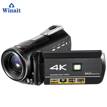 Winait HD 4K wifi Digital Video Camera with 3.0'' touch display, 30x digital zoom home use night vision digital camcorder(China)