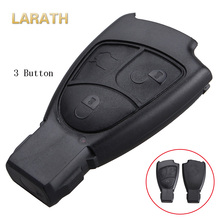 LARATH Replacement Shell 2/3/4 Buttons Car Remote Key Fob Case Cover Mercedes Benz C E ML S SL SLK CLK B Class Original Keys