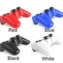 Many colors Free Shipping Wireless Bluetooth Game Gamepad Joystick & Rocker cap For Playstation 3 For PS3 Game Controller