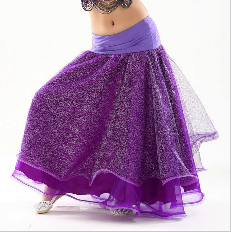 New Child Belly Dance Skirt Girls Sexy Gypsy Dress Chiffon Dance Costumes Show Dancing Outfits for Kids Stage(China (Mainland))