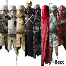 Star Wars The Force Awakens Samurai Taisho Darth Vader Death Star Armor Ashigaru Stormtrooper Boba Fett Toy Action Figure Model