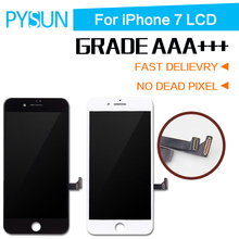 For iPhone 7 LCD Screen pantalla OEM Quality  With 3D Touch Digitizer Display Assembly Replacement White Black Free Shipping