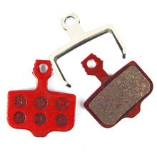 Bicycle Disc Brake Pads Fit AVID Elixir E1/3/5/7/ER/CR Sram Xo XX Black and Red Colors