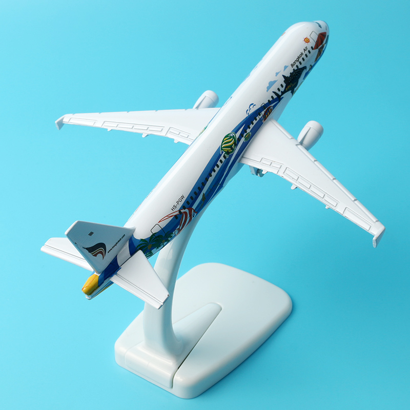 A-320 Bangkok, Thailand aircraft model 16cm Airways Airplane Model Plane Model W Stand Gift(China (Mainland))