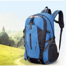 High Quality Waterproof Outdoor Sports Mountaineering Backpack Women&Men Hiking Athletic Sport Travel Backpack Climbing Bags(China)