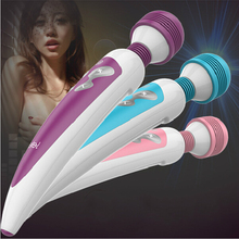 vibrador Leten waterproof AV vibrator Pulse and vibration wand massager Vibrators sex products Import strong motor For Woman(China)