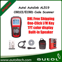 Autel AutoLink AL519 OBDII/EOBD Auto Code Scanner with 10 modes diagnosis TFT color display Work on ALL 1996 and newer vehicles(China)