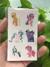Waterproof Temporary Tattoo sticker Unicorn Horse cute cat flower fish Dandelion Water Transfer fake tattoo for kids adults(China)