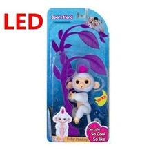 LED Fingerlings Unicorn Interactive Baby Monkeys Smart Fingers Llings Smart Induction Toys Best Gifts For Kids finger PLAYFUL(China)