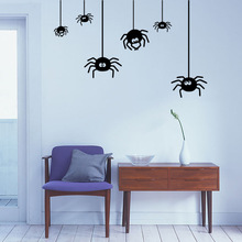 Halloween Wall Stickers Spider Decoration Best Selling Decor Decals for Walls Decal Hot Selling(China)