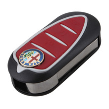 BRAND NEW REPLACEMENT Keyless Entry Case Folding Flip Remote Key Shell for Alfa Romeo Mito Giulietta 159 GTA With LOGO