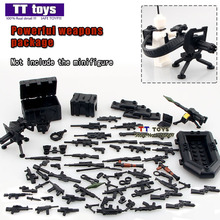 Military Series Swat Police Gun Weapons Pack Army Weapon Brick Pack For City Police Building Block Best Children Gift Toys