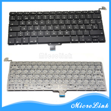 "New 13.3"" Spanish Keyboard with backlight for Macbook Pro Unibody A1278 MC374 MB990 MC700 MB466 Spanish Layout"