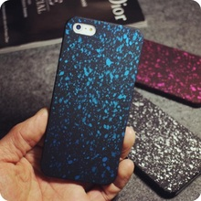 Style 3D Hard PC Cover Three-dimensional Stars Ultra thin Frosted Starry Sky Phone Case Matte for iPhone 5s SE 6 6s 7Plus Shell