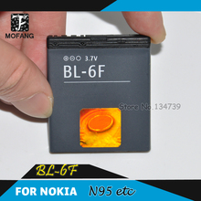 20 piece/lot - BL-6F BL 6F mobile battery for Nokia N95 8G/N78/N79/6788i - 800mAh - free shipping