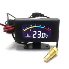 DC 9V-36V Universal Thermometer -10~100C Digtal LED Water TEMP Tester Temperature Meter Gauge for Cars
