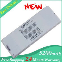 "Hot + new 6 Cell Laptop battery for Apple MacBook 13"" inch A1181 A1185 MA561 MA566 white Free shipping"