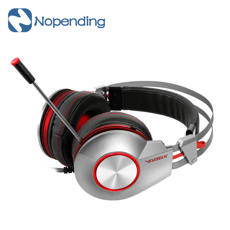 Original XIBERIA K5U Gaming Headset Headphones Super Stereo Bass USB LED Stereo Gaming Headsets For Computer Gamer professional<br><br>Aliexpress