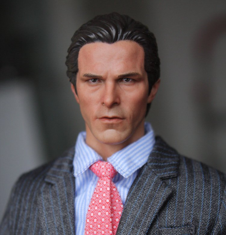 1:6 scale male Figure accessories Batman Bruce Wayne Christian Bale head shape carved for 12 Action figure doll<br><br>Aliexpress