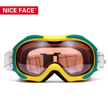 Winter Design Women Men Skiing Snowboarding Goggles Dual Lens UV Protection Anti-Fog Snow Ski Glasses Snowboard Eyewear NF925