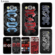 Ac Dc Black ice Heavy Metal Music Band Hard Case Cover for Galaxy A3 A5 J5 (2016/2017) J3 J5 Prime J7 & Note 5 4 3 Grand 2 Prime