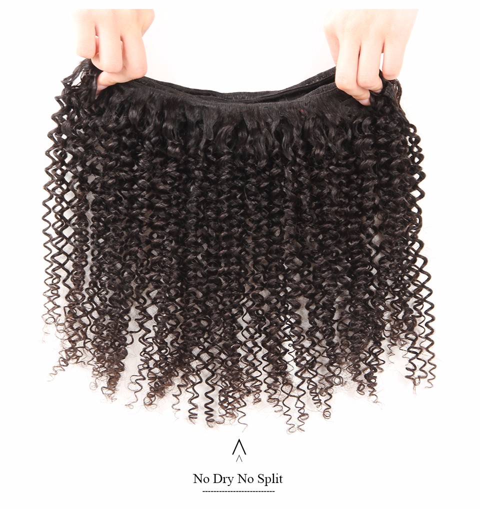 ISEE Remy Hair Extension Brazilian Kinky Curly Human Hair Weave Bundles Free Shipping Machine Double Weft