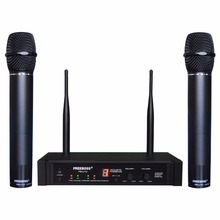 Freeboss FB-U10 Dual Way Digital UHF Wireless Microphone with 2 Metal Handhelds(China)