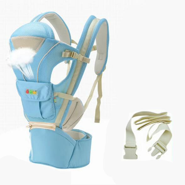 2016 New Baby Carrier Waist Stool Breathable Multifunctional Baby Sling Holding Waist Stool Baby Belt Backpack Hipseat Infant<br><br>Aliexpress