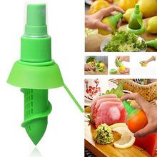 Creative Orange Juice Squeeze Juice Juicer Lemon Spray Mist Orange Fruit Squeezer Sprayer Kitchen Cooking Tool(China)