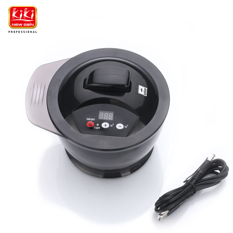 Kiki Rechargable super power electric Hair color Mixing bowl electronic tinting bowl Barber tools<br>