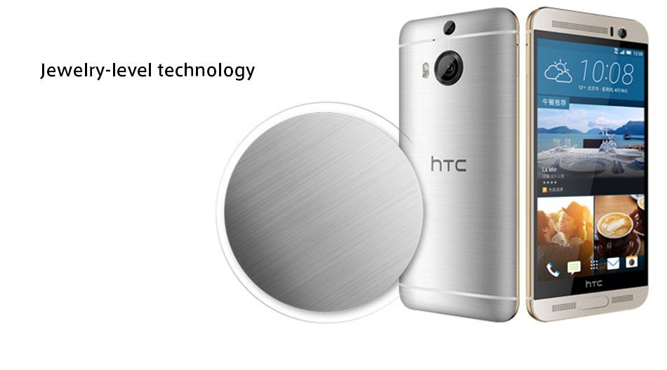 UK/HK Version HTC One M9+ M9pw LTE Mobile Phone Octa Core 2.2 GHz 3GB RAM 32GB ROM 5.2inch 2560×1440 Dual Camera 20 MP CellPhone