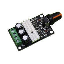 Smart Electronics PWM DC 6V 12V 24V 28V 3A Motor Speed Control Switch Controller Output Power Max 80W Free Shipping(China)