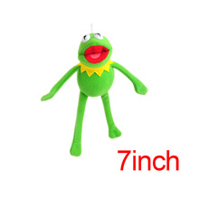 16cm Kermit Plush Keychains Sesame Street Doll Stuffed Animal Kermit Pendant Plush Frog Doll Toys SA1597(China)
