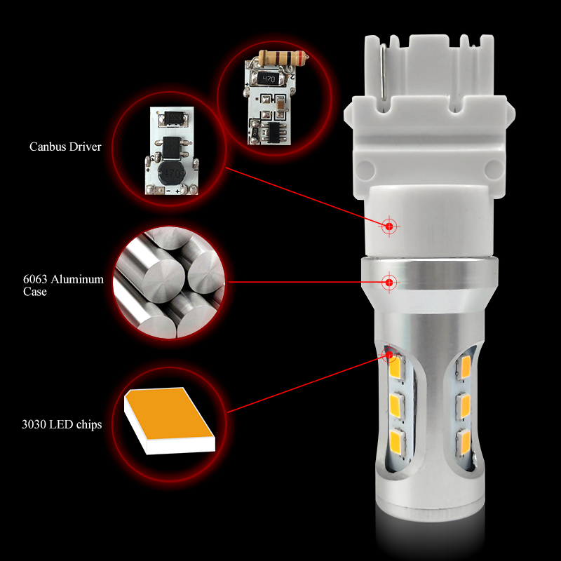 structure for 3156 py27w led bulb