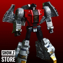 [Show.Z Store] FansToys FT-07 Stomp 2017 Reissue Iron Dibots No.4 MP Transformation Action Figure