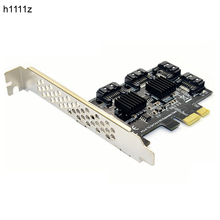 H1111Z Add On Card SATA3 PCI-E/PCIE/PCI Express SATA 3 Controller Multiplier SATA Card/Uitbreiding PCI E PCIE x1 SATA Poort Adapter(China)