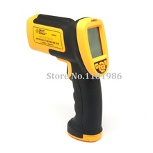 Smart Sensor AS892 Digital IR Non-contact Laser Infrared Thermometer Temperature Gauge with Temperature Meter Gun 200~2200C