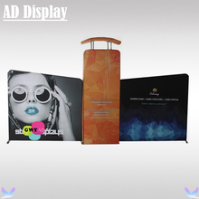 20ft*10ft Trade Show Booth Size Portable Tension Fabric Advertising Display Stand With Single Side Banner Printing(China)