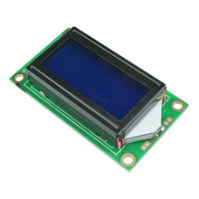 0802 LCD 8x2 Character LCD Display Module 5V LCM Blue backlight For Arduino(China)