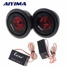 AIYIMA 1 Set Mini Audio Portable Speakers 4Ohm 120W Car Treble Small Tweeter Speaker With Frequency Capacitor(China)