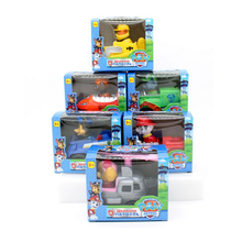 Canine Patrol Dog Toys Anime Doll Action Figures Car Patrol Puppy Toy Patrulla Canina Juguetes Gift for Child Xmas Gift