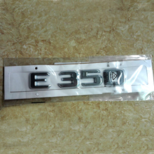 High Quality For Mercedes Benz 2010 2011 2012 2013 E Class E300 E350 Number Letters Rear Trunk Emblem Badge Sticker(China)
