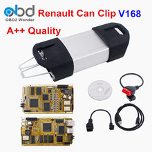 A++ Renault Can Clip V168 Car Diagnostic Tool With Multi-Language Renault Clip Scanner Professional For Renault Multi-Model Cars