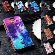 Flip PU Leather Phone Cover For Sony Xperia C3/C4/C1605/C1904/E1/E3/E4/E4G/C5/M5/ST26i Cases Anti-Knock TelePhone Bags