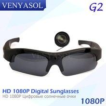 VENYASOL Polarizada Mini Câmera FULL HD 1080 P óculos de Sol Esporte Óculos  de Gravador de Vídeo Digital Camcorder cam segredo p. a449ddc24b