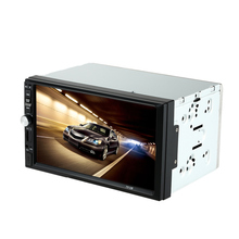 "Universal Double 2 Din Car radio MP5 Player Car Autoradio Video/Mutimedia Player 7"" Car radio with display Rear View Camera(China)"